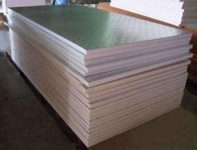 这款岩棉复合板 比普通岩棉板安装工期可缩短70%