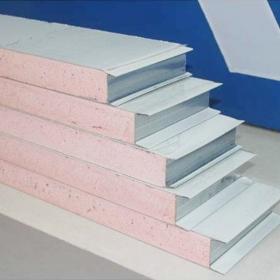 岩棉彩钢夹芯板产品特点