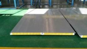 室内彩钢板夹芯板隔断设计安装