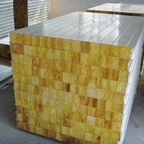 岩棉彩钢板在许多企业得到广泛应用