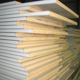 岩棉夹芯板厂家——复合彩钢夹芯板幕墙施工