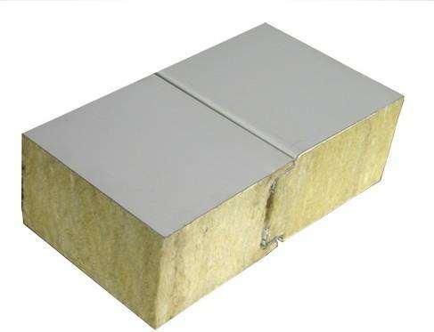100岩棉夹芯板