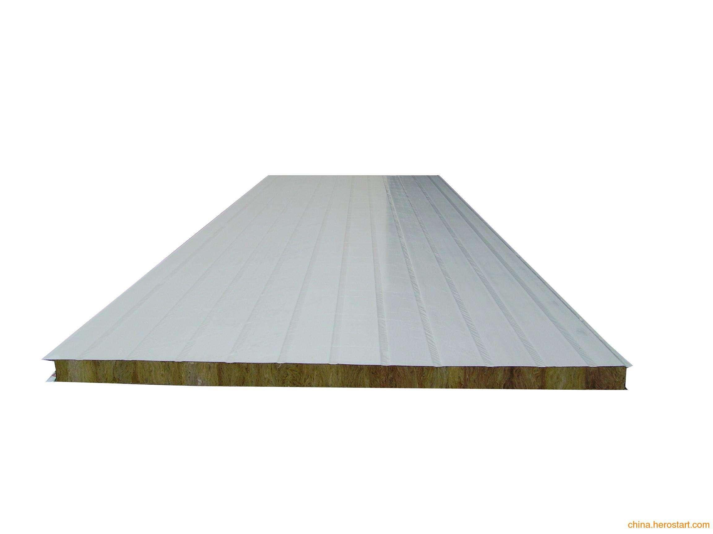 岩棉压纹平板